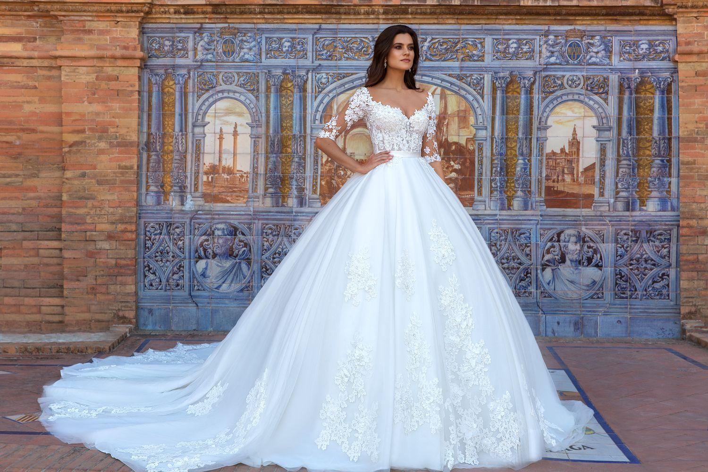 Robe de mariage en location