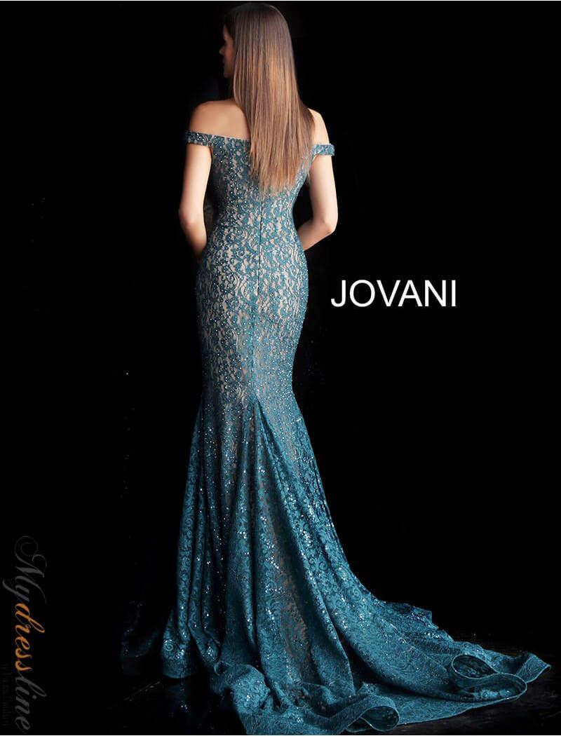 Jovani 64521 peacock 3 800x1050